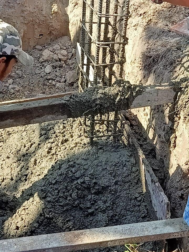 đội đổ bê tông long an