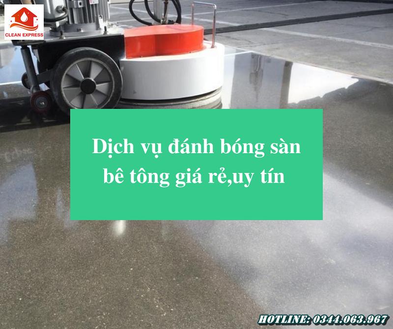 Read more about the article Dịch vụ đánh bóng sàn bê tông giá rẻ,uy tín – Gọi 0344.063.967