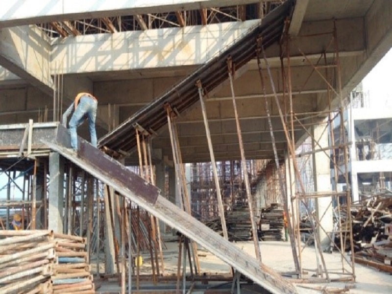 Dịch vụ đổ bê tông cầu thang cốt thép chất lượng Đất Tháp