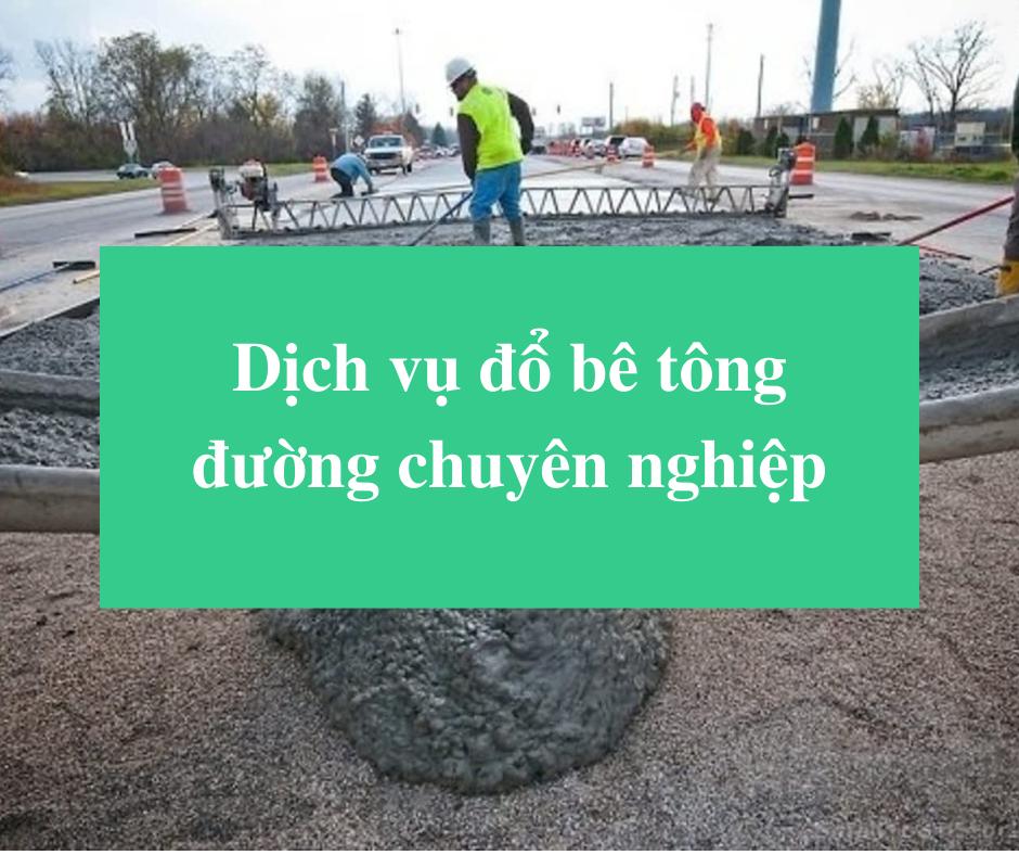 Read more about the article Dịch vụ đổ bê tông đường chuyên nghiệp