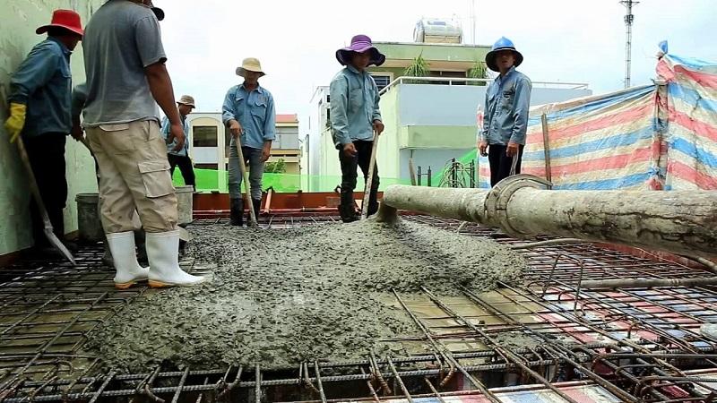 Dịch vụ đổ bê tông mái chuyên nghiệp giá rẻ miền Nam