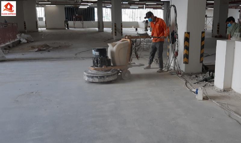 Dịch vụ mài sàn bê tông công nghiệp tại miền Nam