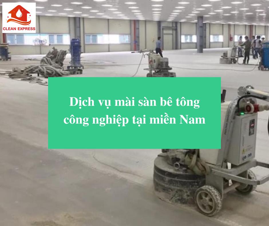 Read more about the article Dịch vụ mài sàn bê tông công nghiệp tại miền Nam