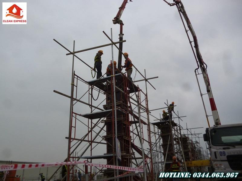 Đơn vị chuyên cung cấp đội thi công đổ bê tông cột tại phía Nam - Gọi ngay 0344.063.967
