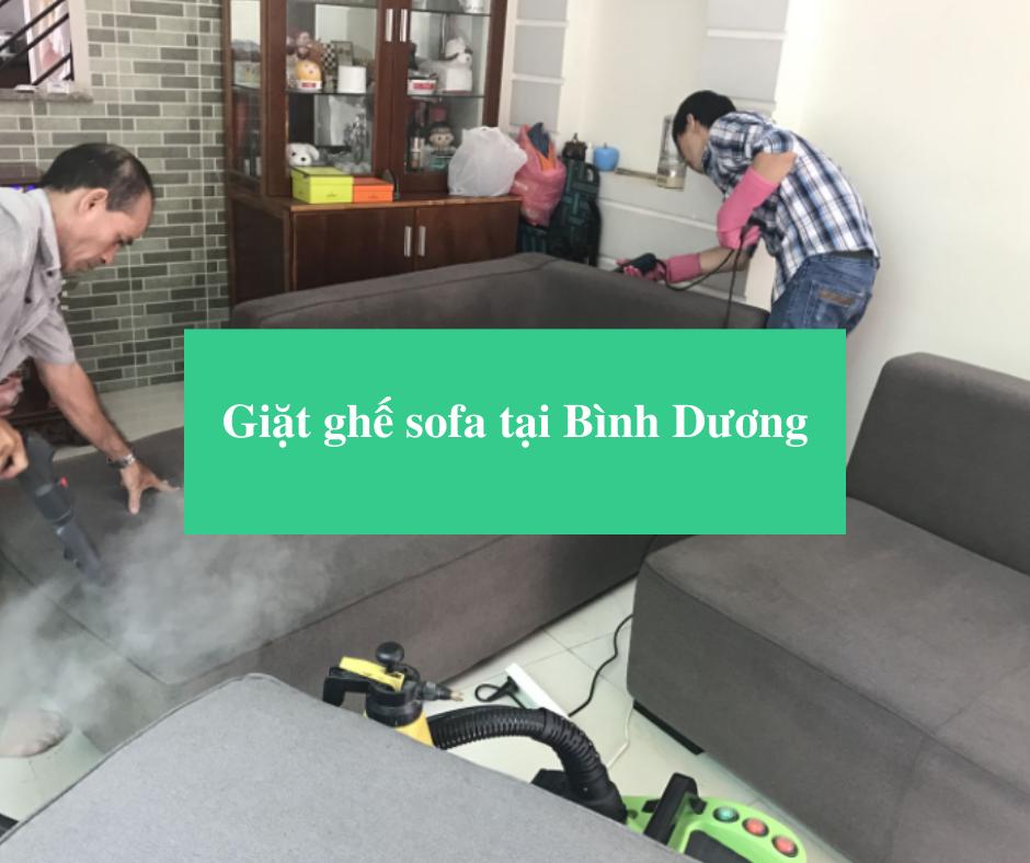 Read more about the article Giặt ghế sofa tại Bình Dương giá rẻ, chất lượng