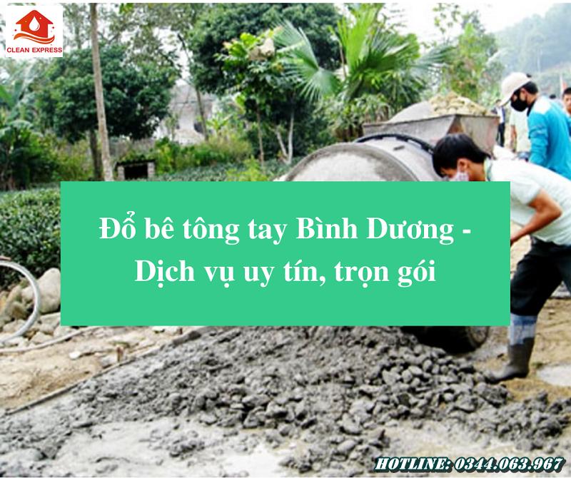 Read more about the article Đổ bê tông tay Bình Dương – Dịch vụ uy tín, trọn gói