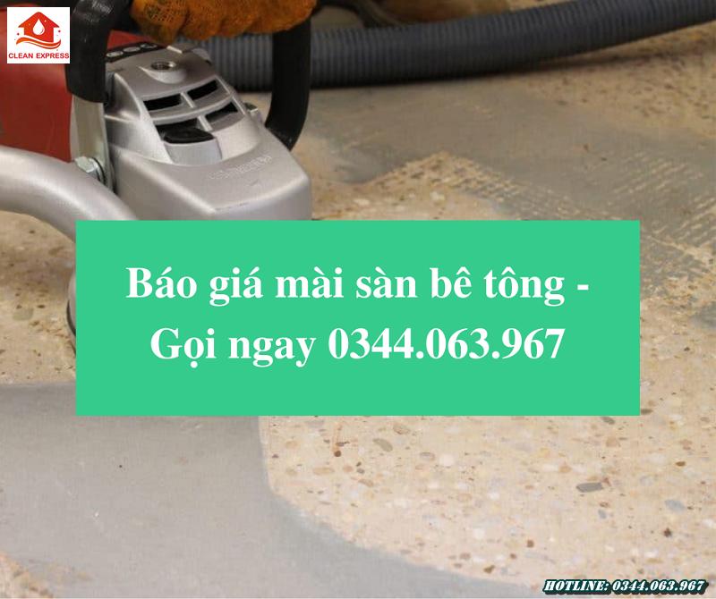 Read more about the article Báo giá mài sàn bê tông – Gọi ngay 0344.063.967