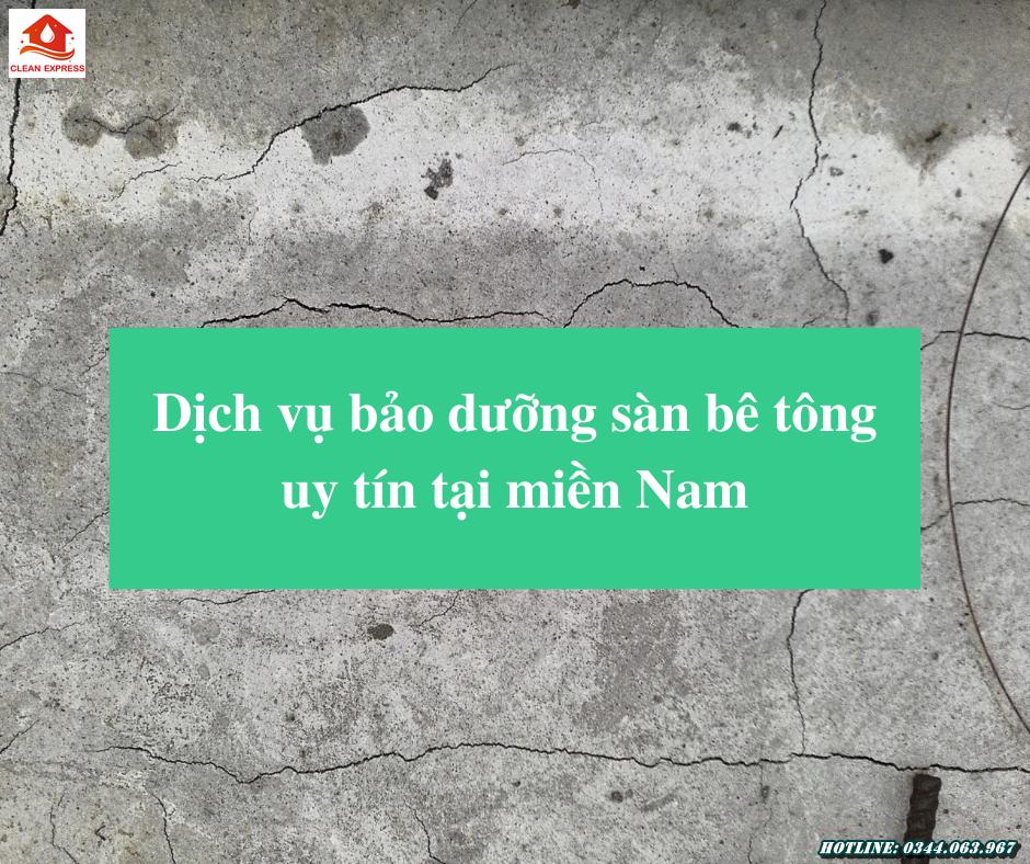 Read more about the article Dịch vụ bảo dưỡng sàn bê tông uy tín tại miền Nam