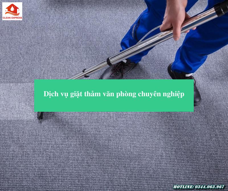 Read more about the article Dịch vụ giặt thảm văn phòng chuyên nghiệp
