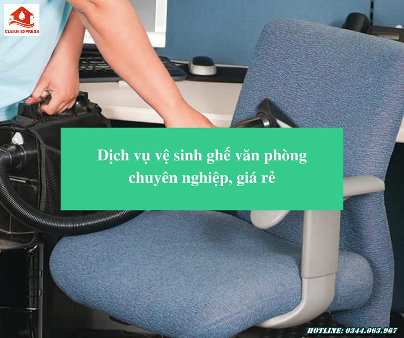 Read more about the article Dịch vụ vệ sinh ghế văn phòng chuyên nghiệp, giá rẻ
