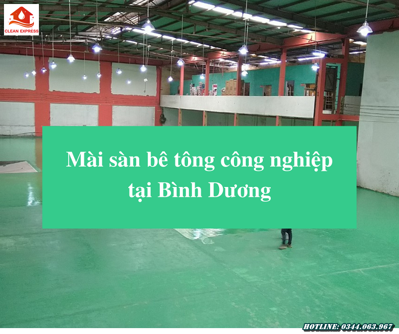 Read more about the article Mài sàn bê tông công nghiệp tại Bình Dương
